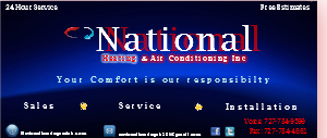 National Heating & Air Conditioning Inc
