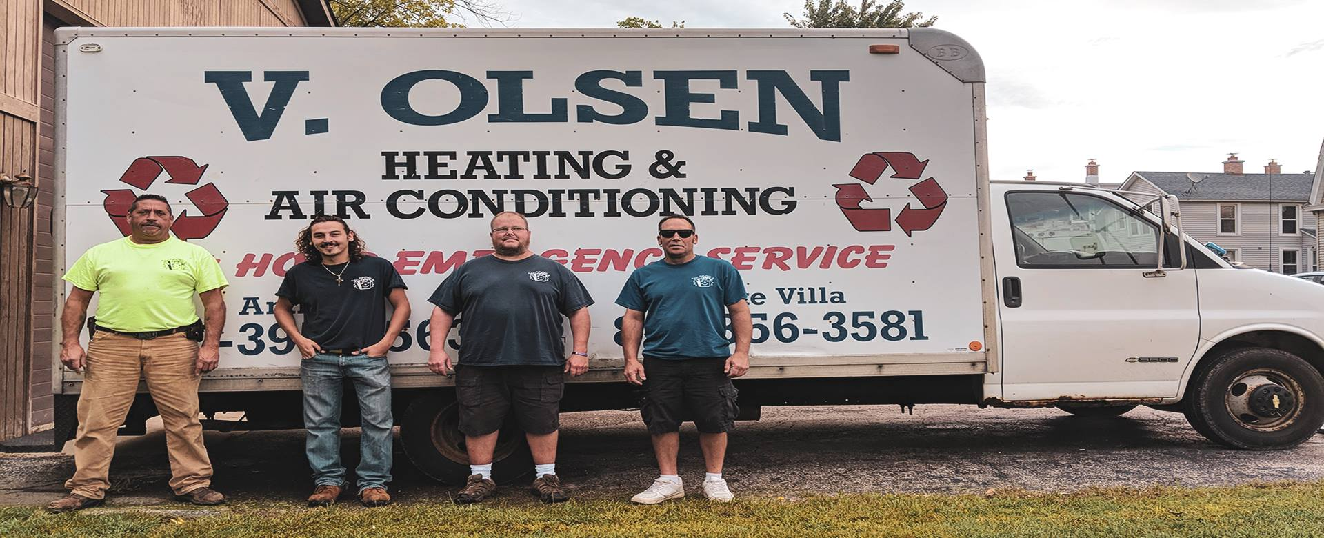 V. Olsen Heating & Air Conditioning Inc