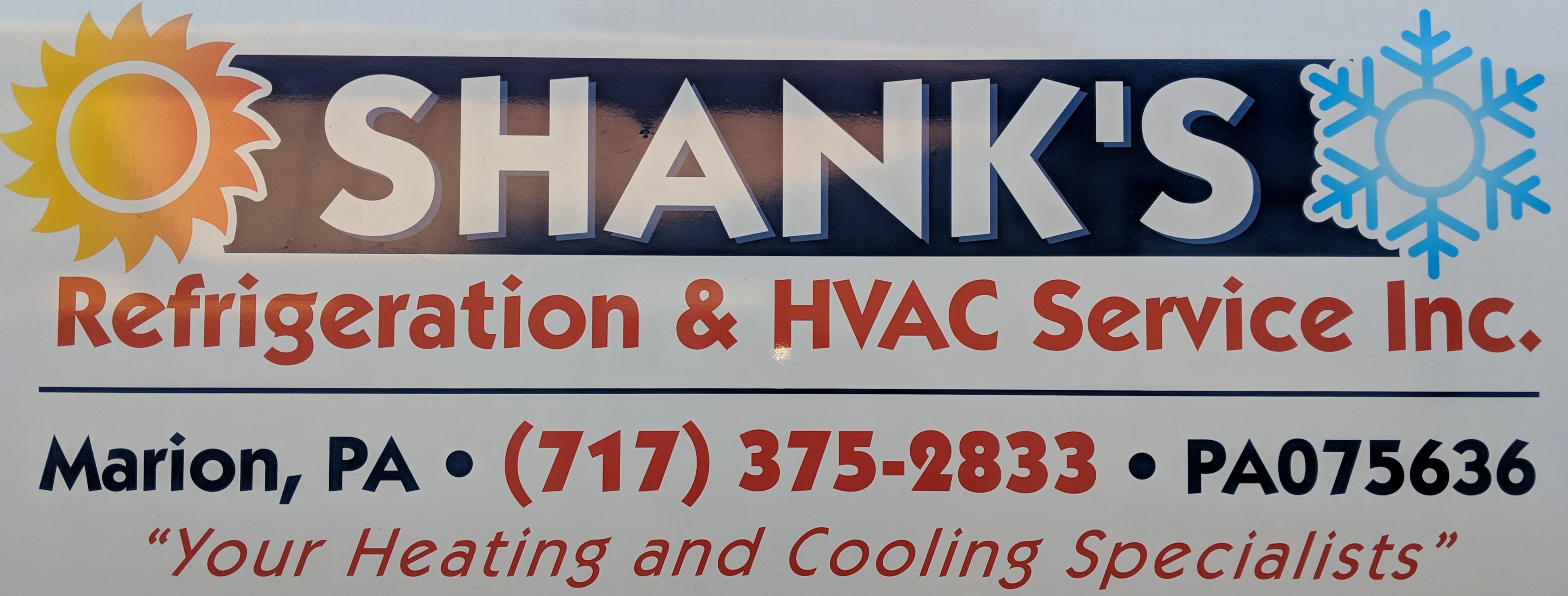 Shanks Refrigeration & HVAC Service